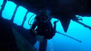 A fantastic dive site in Tenerife: Tabaiba and its wreck! - Diving Atlantis Tenerife